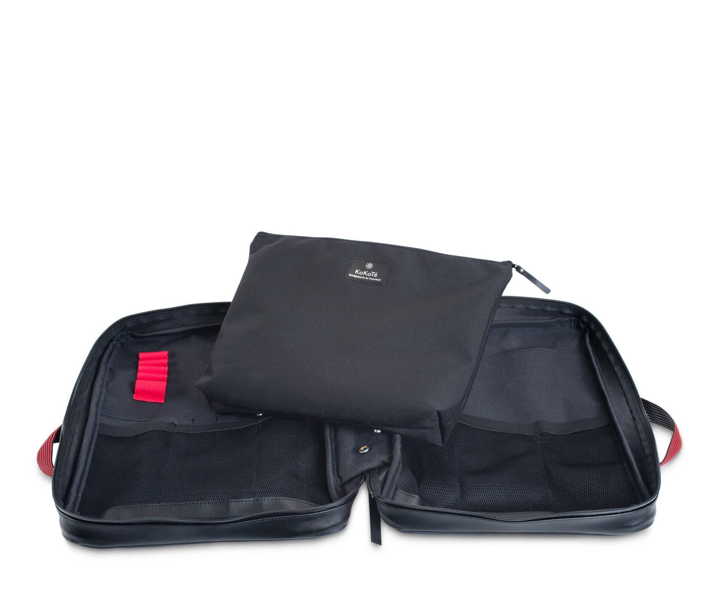 11 Pändler schwarz offen mit Zusatztasche 1
