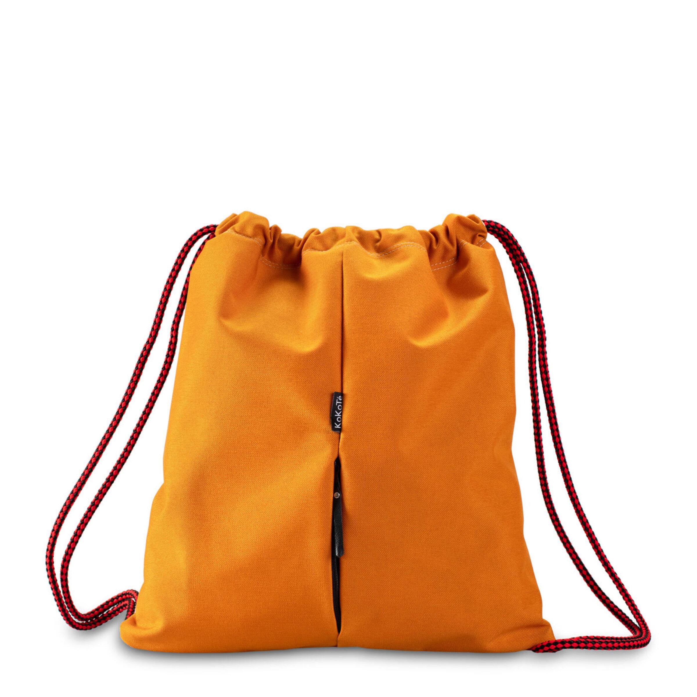 Gymbag gelb rot hinten