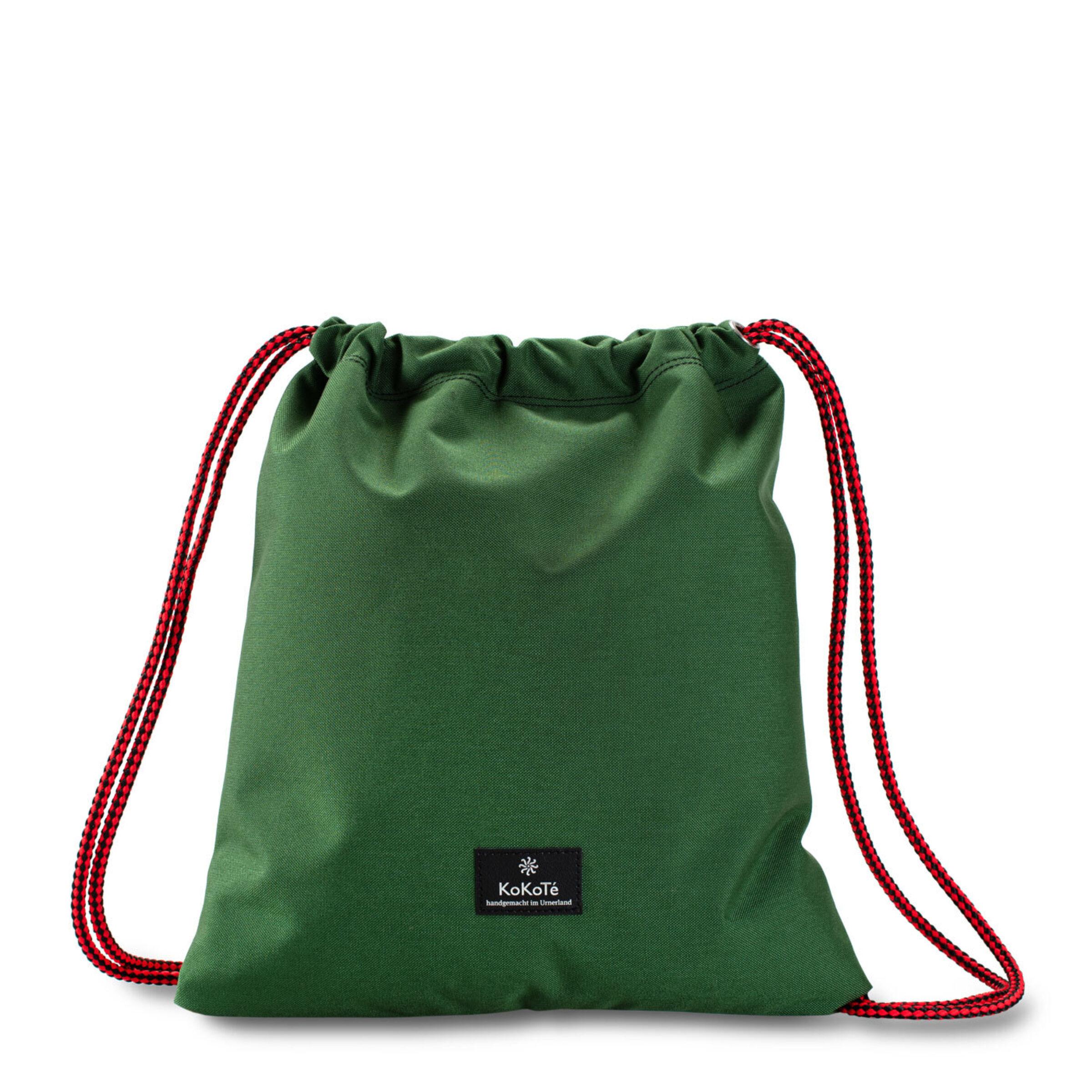 Gymbag grün rot vorne